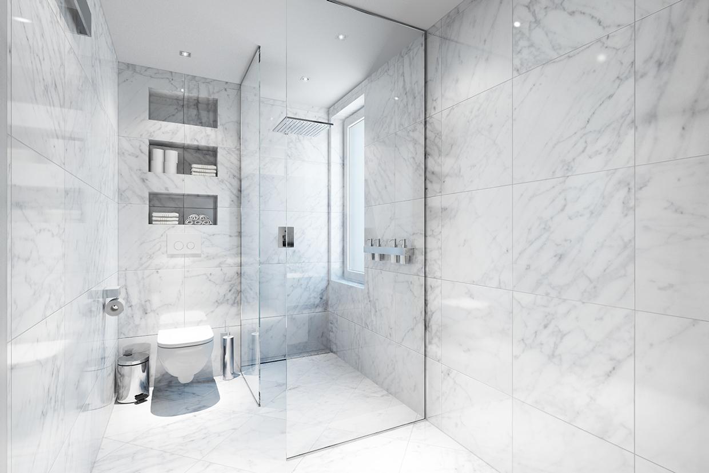 Marble inspiration atrim global uk for Carrelage en marbre blanc
