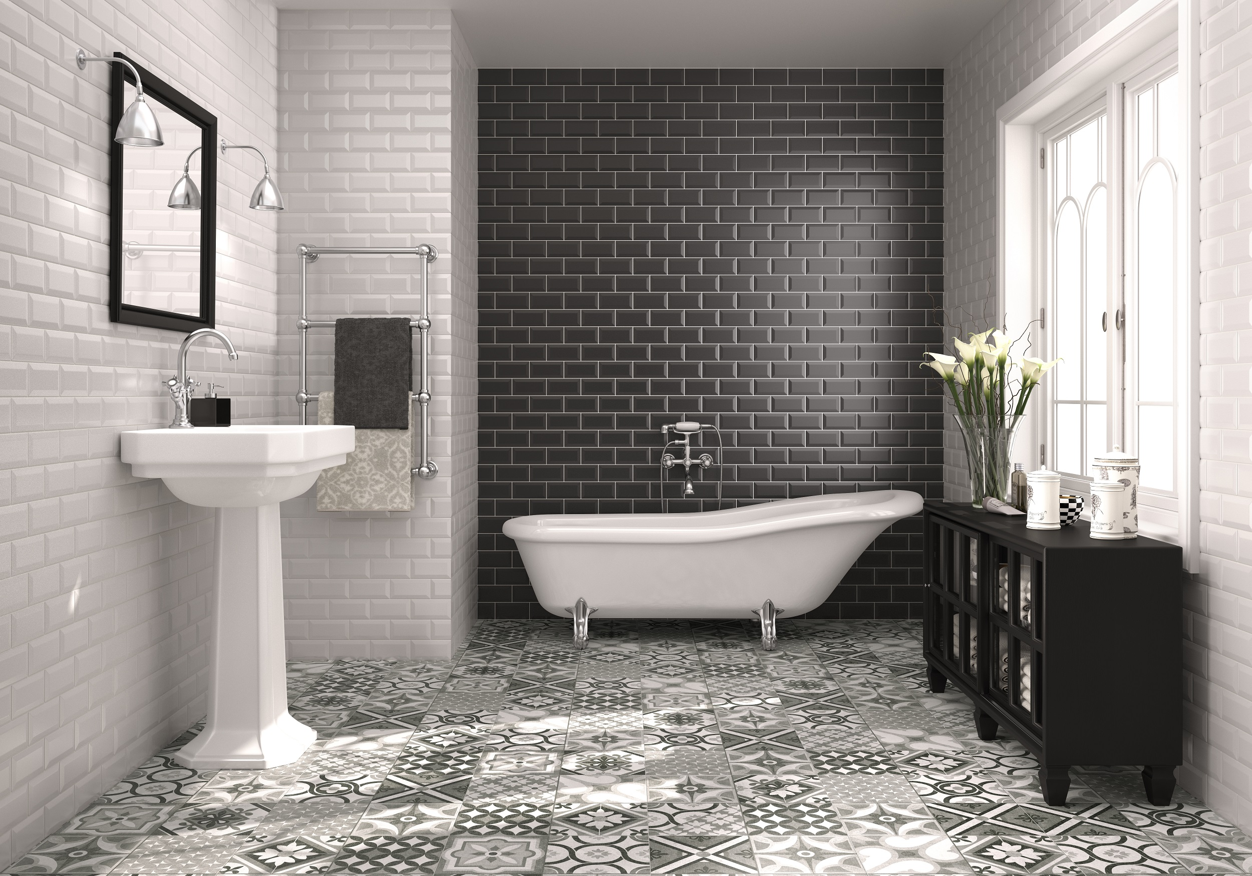 Urban chic. The relentless rise of Metro and brick-effect wall ...