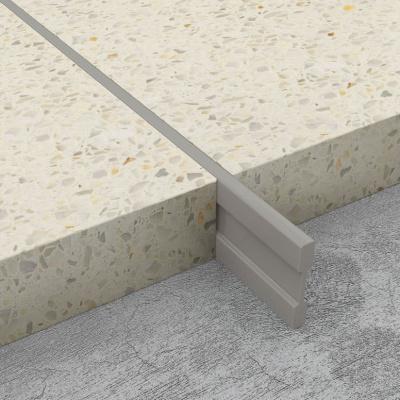 Terrazzo Dividing Strips - Light Grey PVC