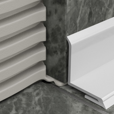 Bathseal - White PVC Overtile 1