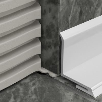 Bathseal - White PVC Overtile 1