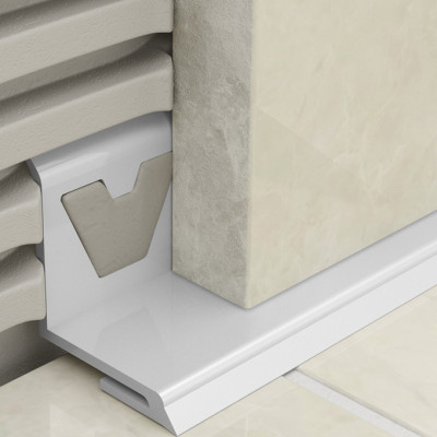 Bathseal - White PVC Undertile 1