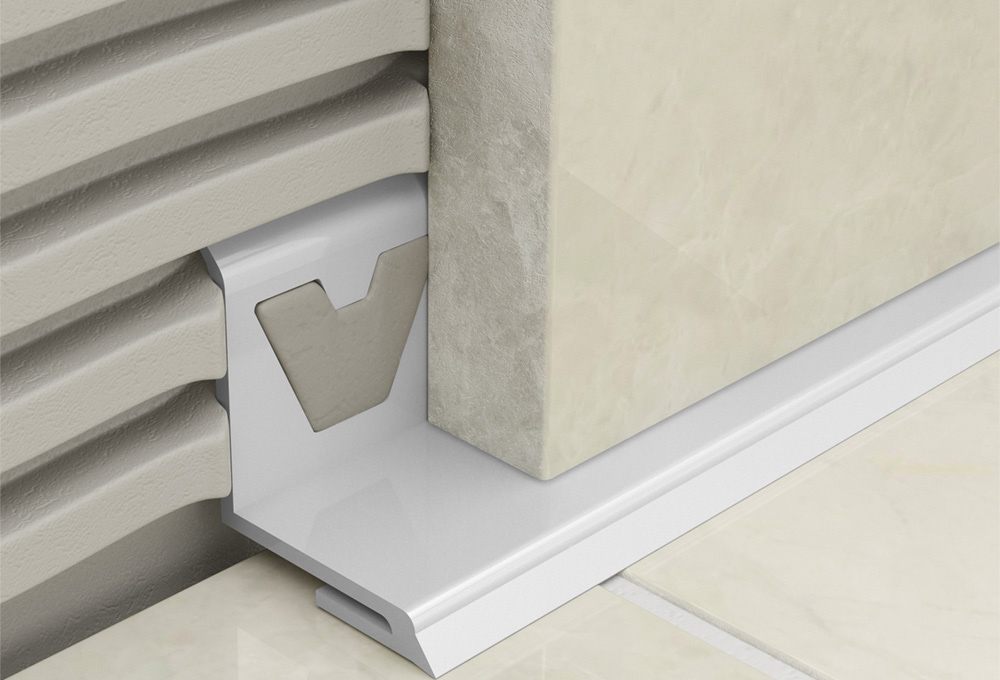 Bathseal – White PVC Undertile 1