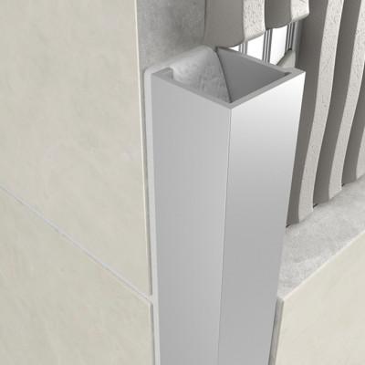 Cube Profile - Matt Anodised Aluminium 1