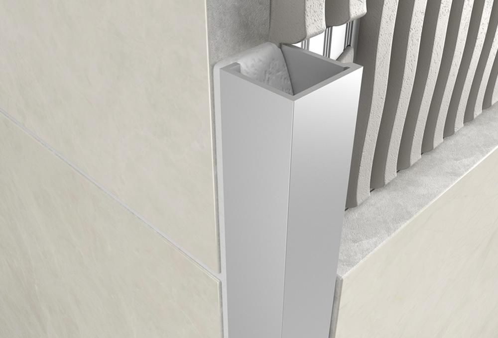 Cube Profile – Matt Anodised Aluminium 1