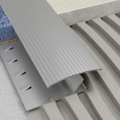 Griptrim Profile - Silver Aluminium 1