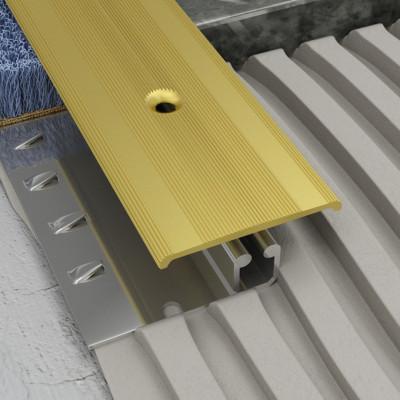 Screwgrip Profile - Matt Brass Aluminium 1