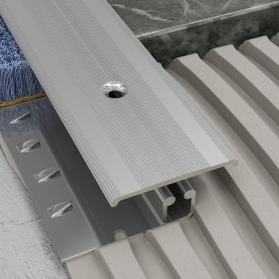 Screwgrip Profile - Silver Aluminium 1