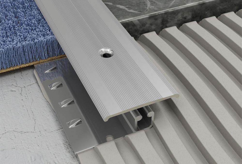 Screwgrip Profile – Silver Aluminium 1