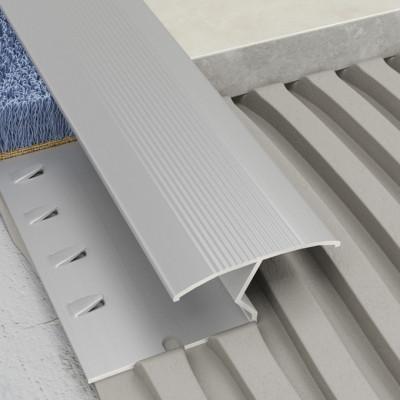 Transcarpet Profile - Silver Aluminium 1