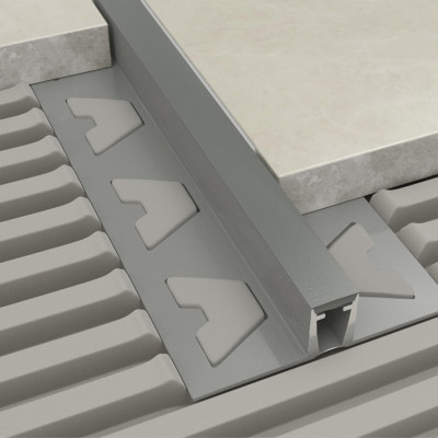 Movement Joint - Grey PVC