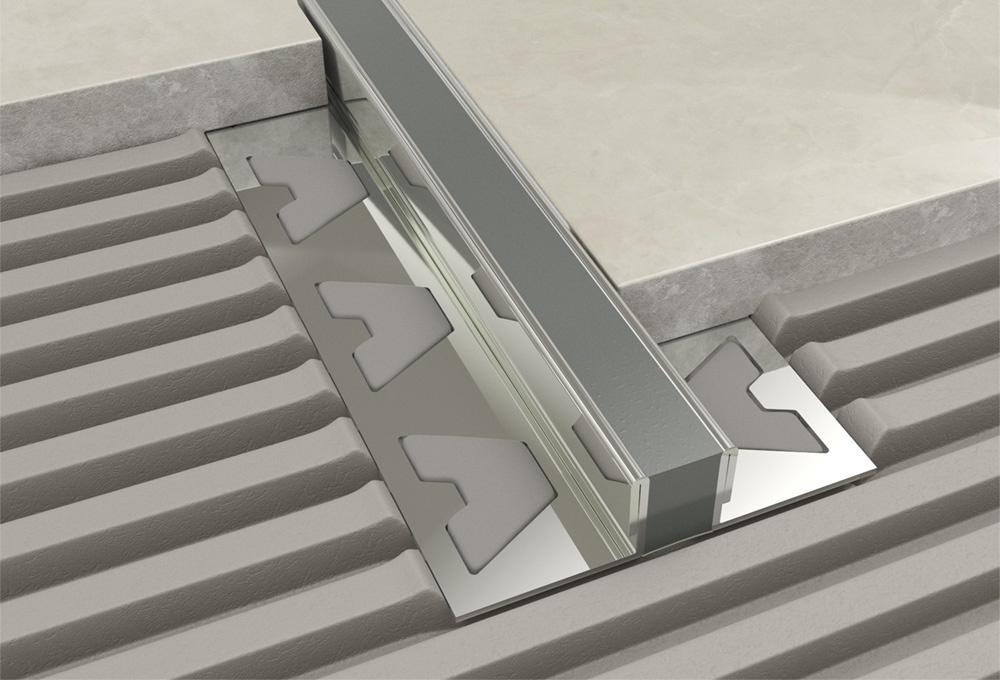 Movement Joint – Aluminium Grey Insert 1