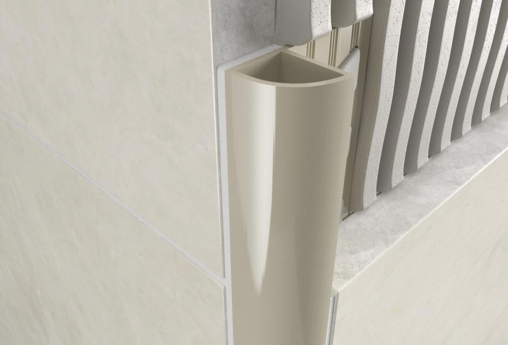 Round Edge Closed Profile – Jasmine PVC 1