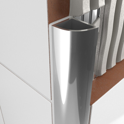 Round Edge Profile - Stainless Steel 1