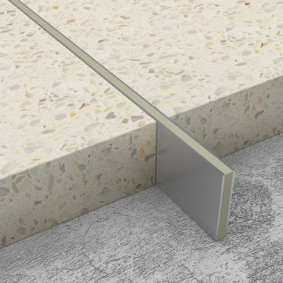 Screed Joints - Stainless Steel - Stone Infill 1