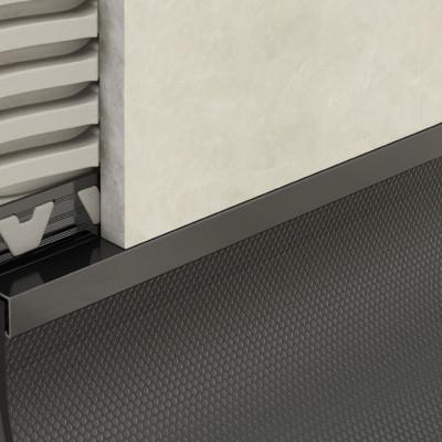 Skirting Trim - Black PVC 1