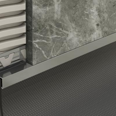 Skirting Trim - Grey PVC 1