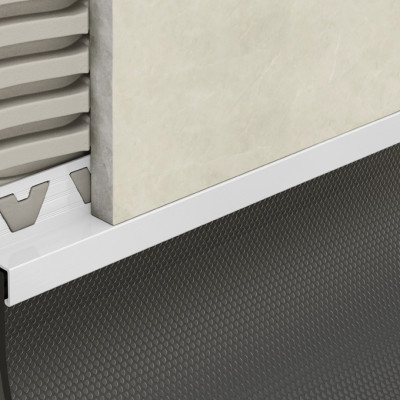 Skirting Trim - White PVC 1