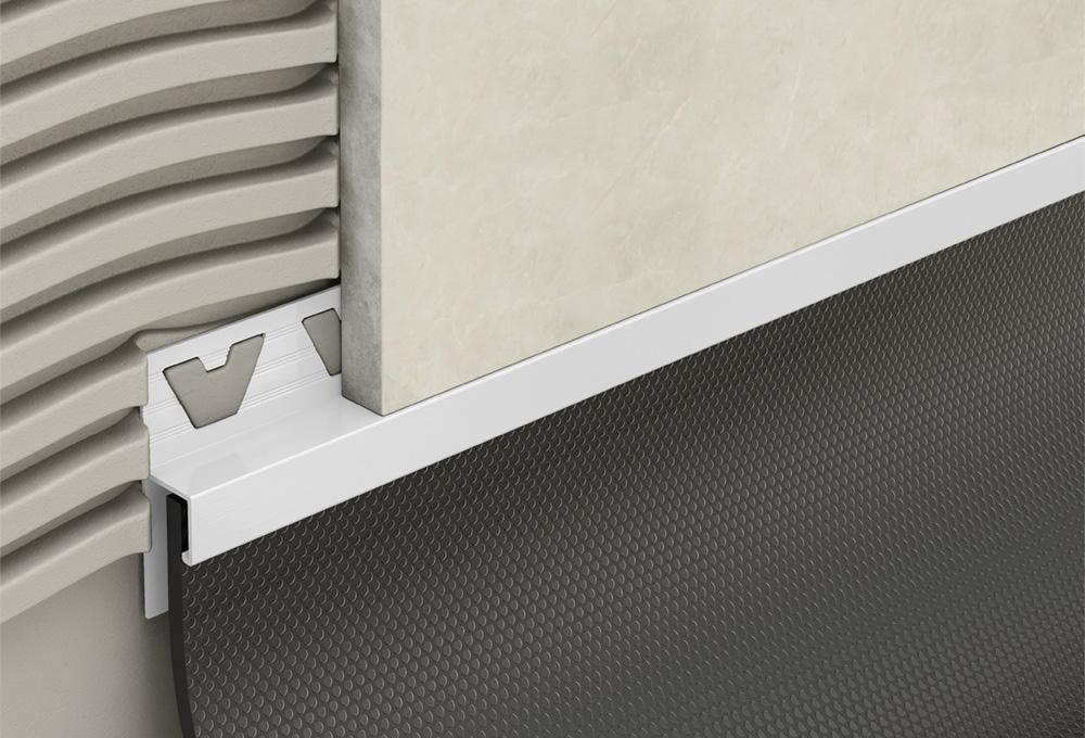Skirting Trim – White PVC 1