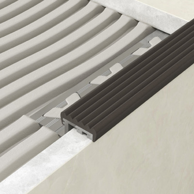 Step Edge Profile - Black PVC 1