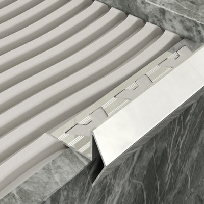Step Edge Profile - Stainless Steel 1