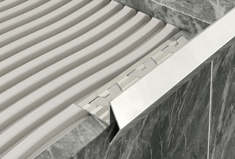 Step Edge Profile – Stainless Steel 1