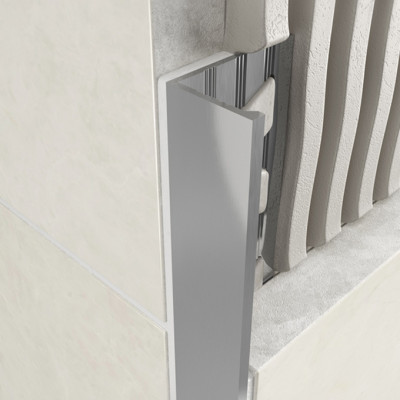 Straight Edge Profile - Standard Aluminium 1