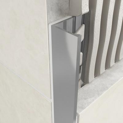 Straight Edge Profile - Standard Aluminium 1