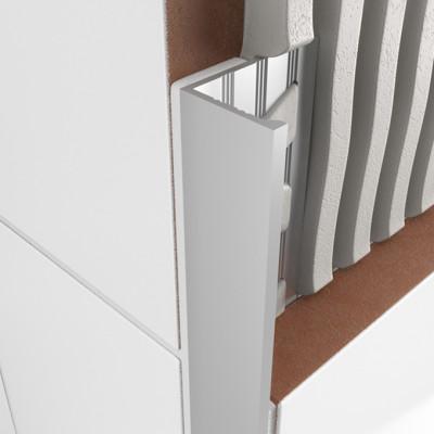 Straight Edge Profile - Matt Anodised Aluminium 1
