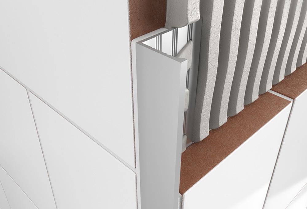 Straight Edge Profile – Matt Anodised Aluminium 1