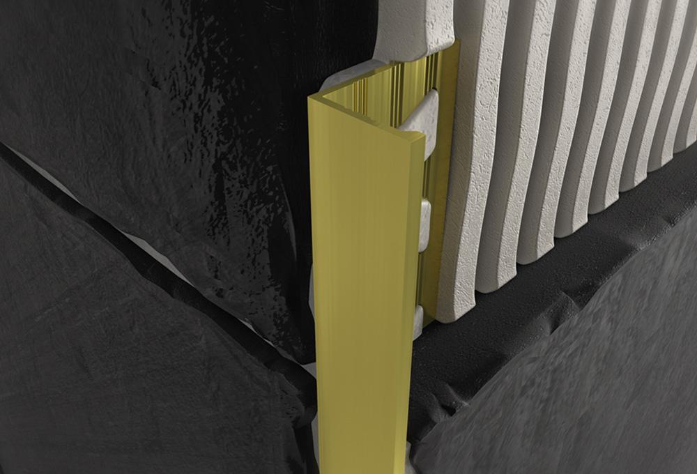 Straight Edge Profile – Brass 1