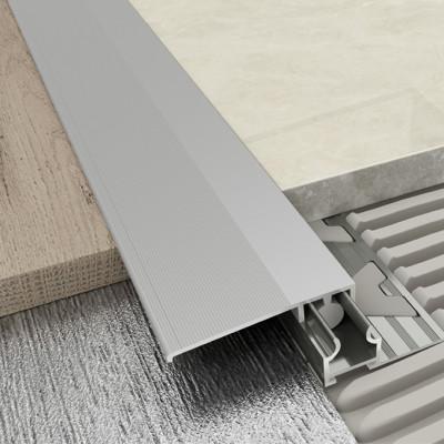 Adjustable Transition Profile - Matt Aluminium 1
