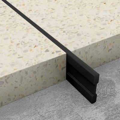Terrazzo Dividing Strips - Black PVC 1