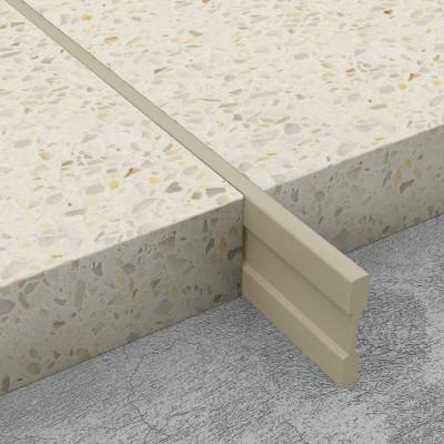 Terrazzo Dividing Strips - Cream PVC 1