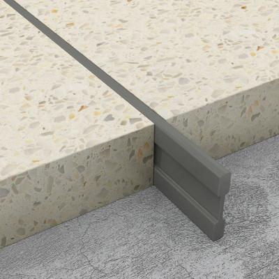 Terrazzo Dividing Strips - Dark Grey PVC 1