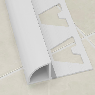 Two Way Profile - White PVC 1