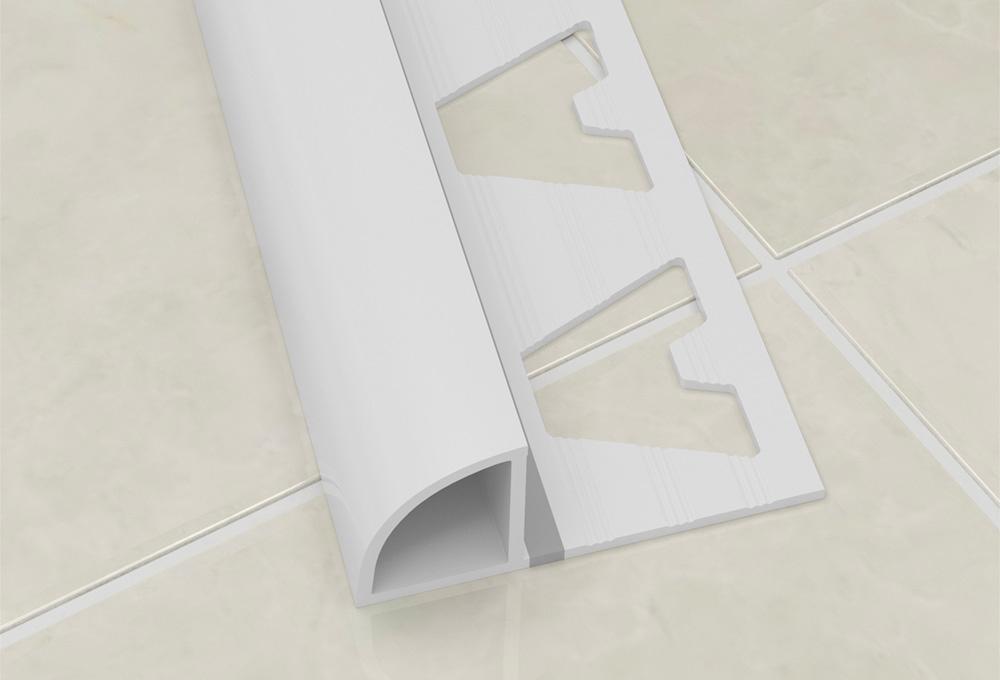 Two Way Profile – White PVC 1